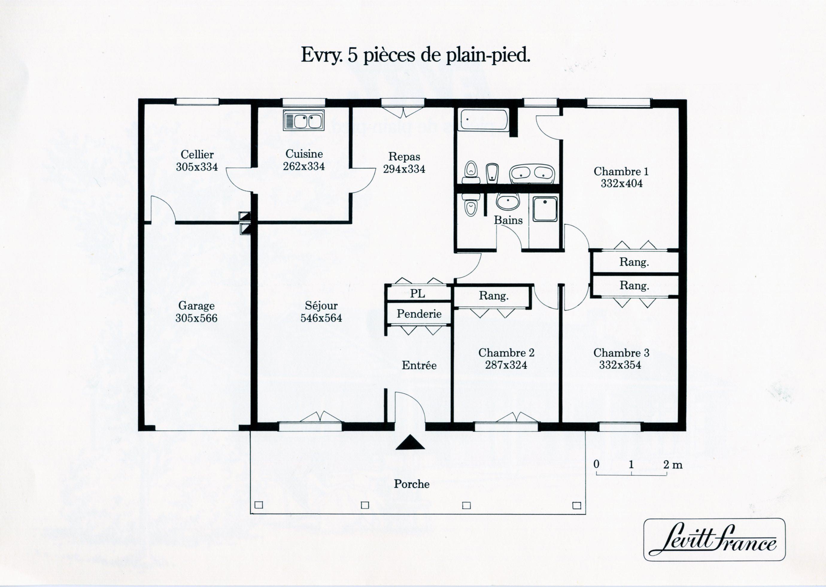 plan maison levitt